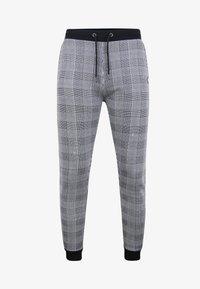 Threadbare - Teplákové kalhoty - black check - 4