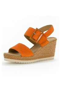 Gabor - Wedge sandals - orange - 1