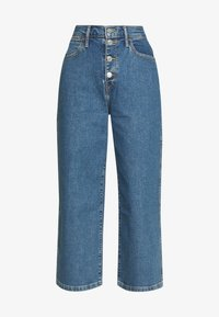Levi's® - MILE HIGH BUTTONS - Flared jeans - stoned out - 3
