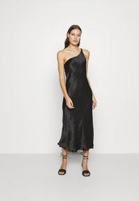 Third Form - WATERS EDGE ONE SHOULDER MAXI - Occasion wear - black