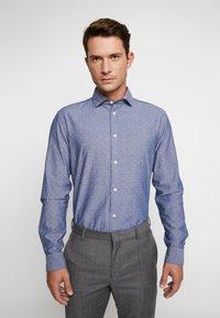 Selected Homme - SLHSLIMMARK WASHED - Formal shirt - dark blue - 0