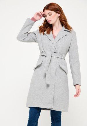 WITH BELT - Trenchcoat - grey
