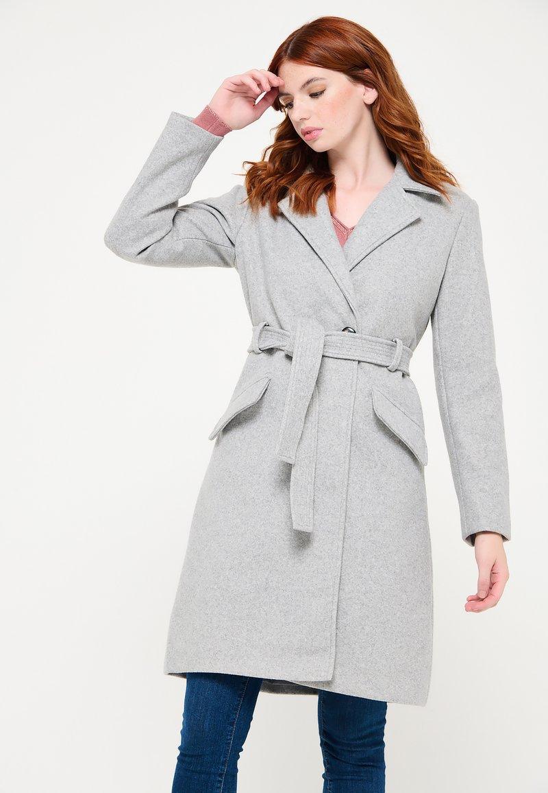 LolaLiza - WITH BELT - Trenchcoat - grey