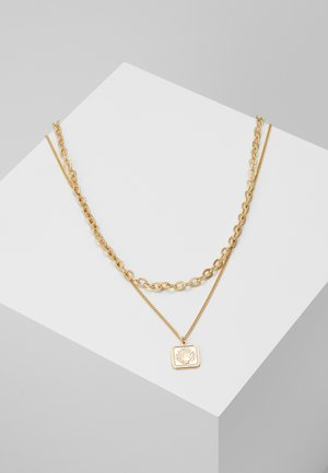 PCSIMONE COMBI NECKLACE - Smykke - gold-coloured