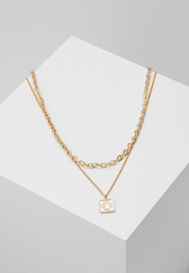 PCSIMONE COMBI NECKLACE - Smykke - gold-coloured