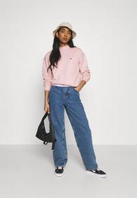 Dickies - OAKPORT HIGH NECK - Sweatshirt - light pink - 1