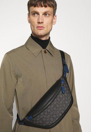 LEAGUE BELT BAG SIGNATURE UNISEX - Bum bag - charcoal/black