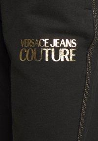 Versace Jeans Couture - LADY TROUSER - Teplákové kalhoty - nero - 4