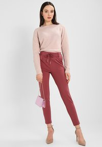 ONLY - POPTRASH EASY COLOUR  - Tracksuit bottoms - wild ginger - 1