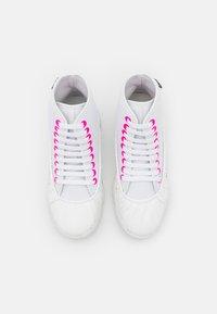 F_WD - Šněrovací kotníkové boty - white - 3
