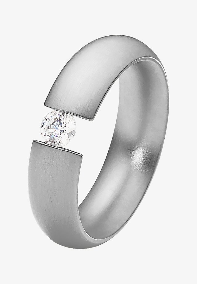 MIT STEIN - Bague - silver-coloured