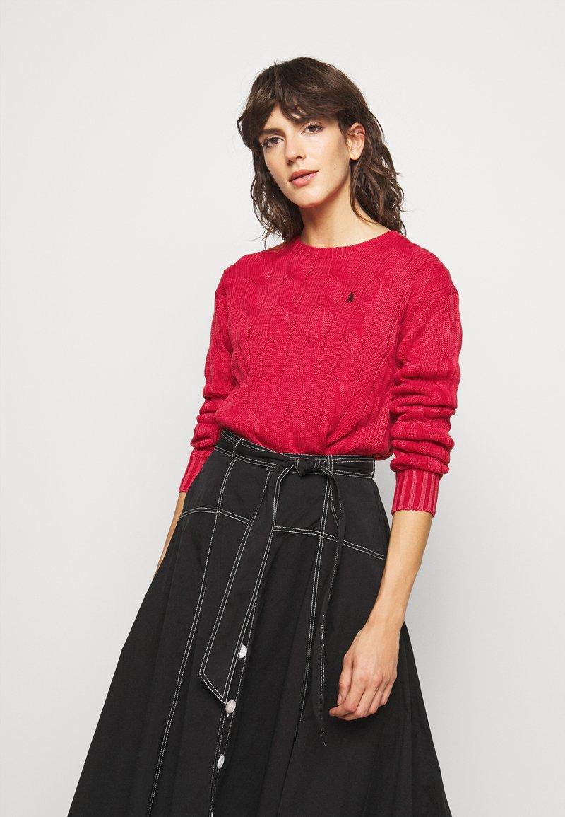 Polo Ralph Lauren - LONG SLEEVE - Strikkegenser - faded red
