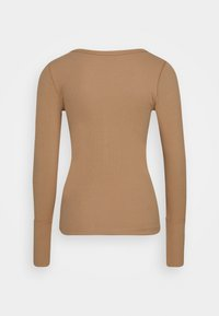 Abercrombie & Fitch - Long sleeved top - tan - 1