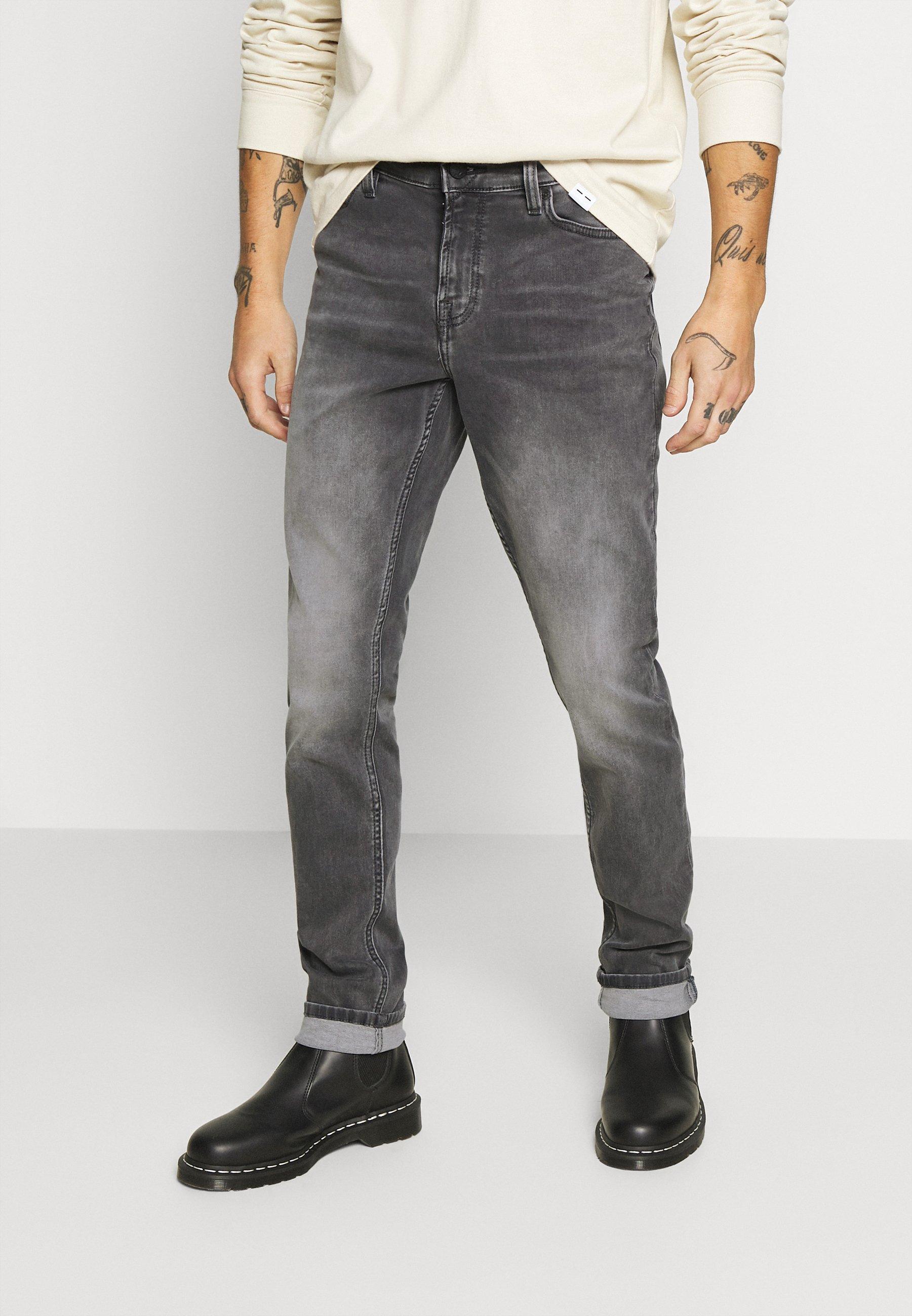 Men ONSLOOM SLIM ZIP SWEAT GREY  - Slim fit jeans