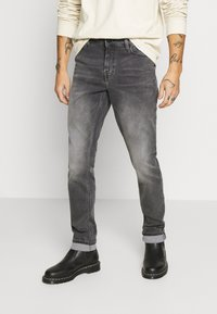 Only & Sons - ONSLOOM SLIM ZIP SWEAT GREY  - Slim fit jeans - grey denim - 0