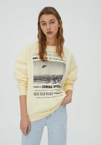 PULL&BEAR - Sweatshirt - yellow - 0