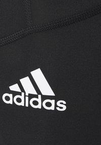 adidas Performance - LONG TECHFIT PRIMEGREEN SPORTS LEGGINGS - Tights - black - 6