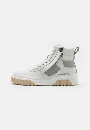 S-RUA MID SK - High-top trainers - white/grey