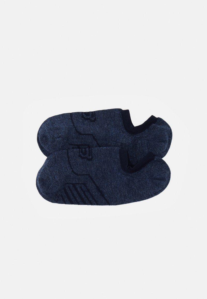 Skechers - CUSHIONED FOOTIES 6 PACK - Trainer socks - jeans mouline