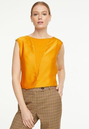 Blouse - saffron