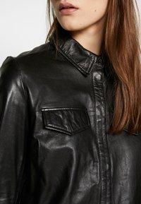 Ibana - MIES - Button-down blouse - black - 3
