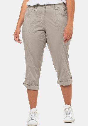 GROSSE GRÖSSEN - Trousers - beige
