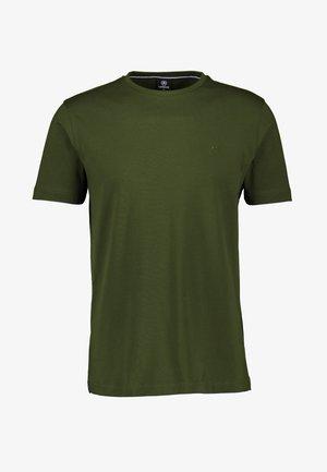 MIT RUNDHALSAUSSCHNITT  - Basic T-shirt - khaki