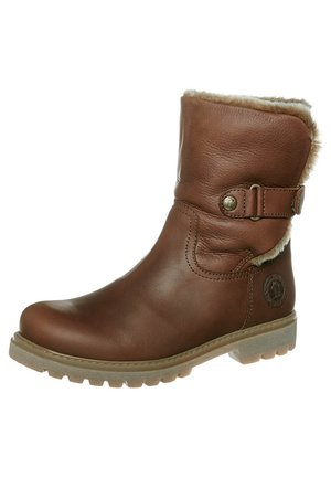 FELIA - Winter boots - cuero/ bark
