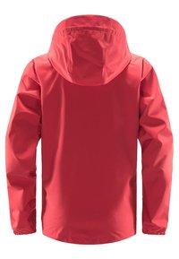 Haglöfs - BUTEO JACKET - Hardshell jacket - hibiscus red - 6