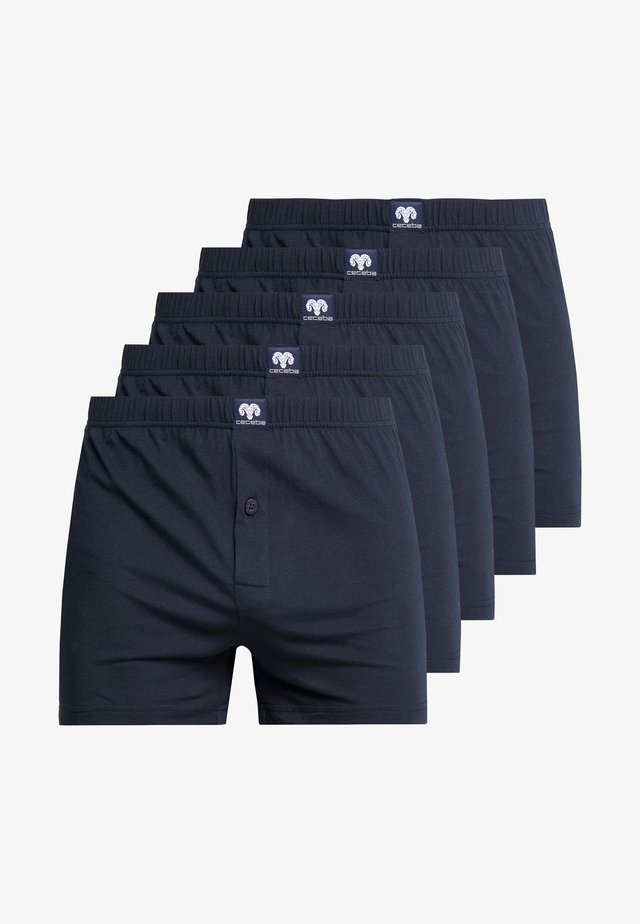 5 PACK - Trenýrky - blue dark solid