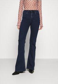 Lee - BREESE - Flared jeans - dark joni - 0