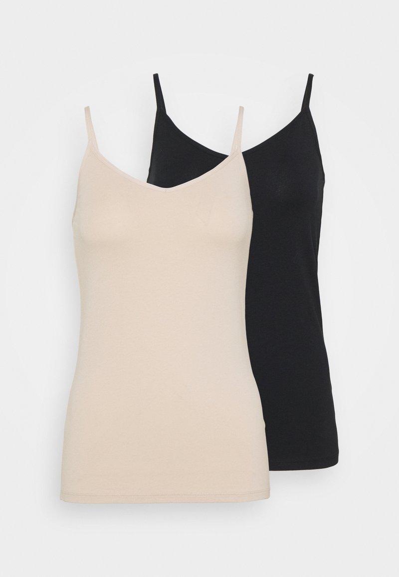 Marks & Spencer London - STAP 2 PACK  - Undershirt - nude