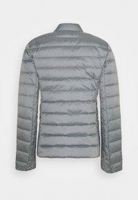 Armani Exchange - GIACCA PIUMINO LIGHT WEIGHT - Down jacket - heather grey - 1
