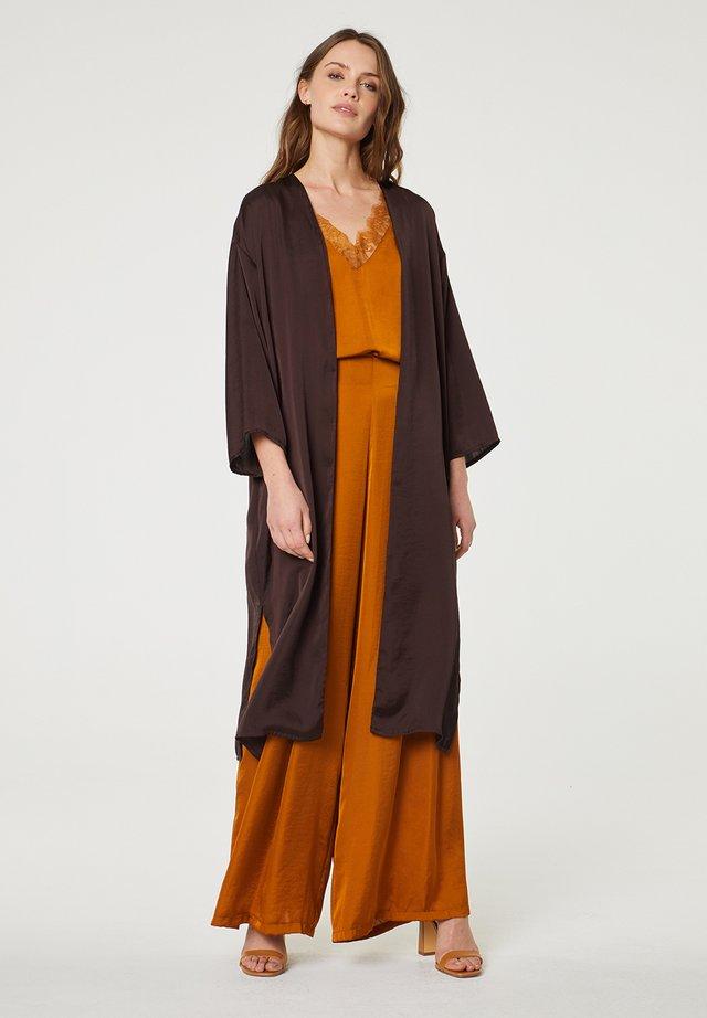 Vest - marrón oscuro
