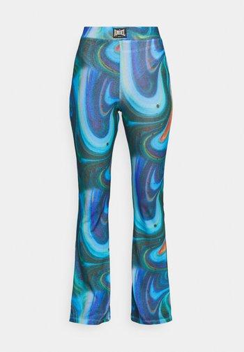 SWIRL PRINT TROUSER - Pantaloni - multi