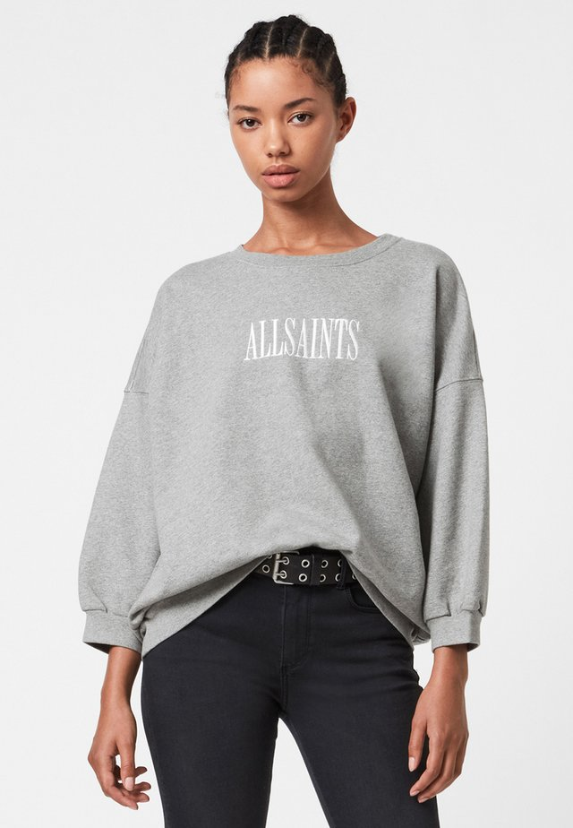 STAMP STORN - Sweatshirt - grey