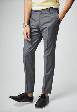 DAMIEN - Suit trousers - grey