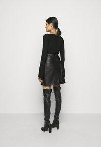RIANI - Mini skirt - black - 2