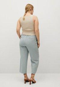 Violeta by Mango - FLOW8 - Trousers - himmelblau - 2