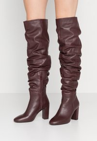 mint&berry - High heeled boots - bordeaux - 0