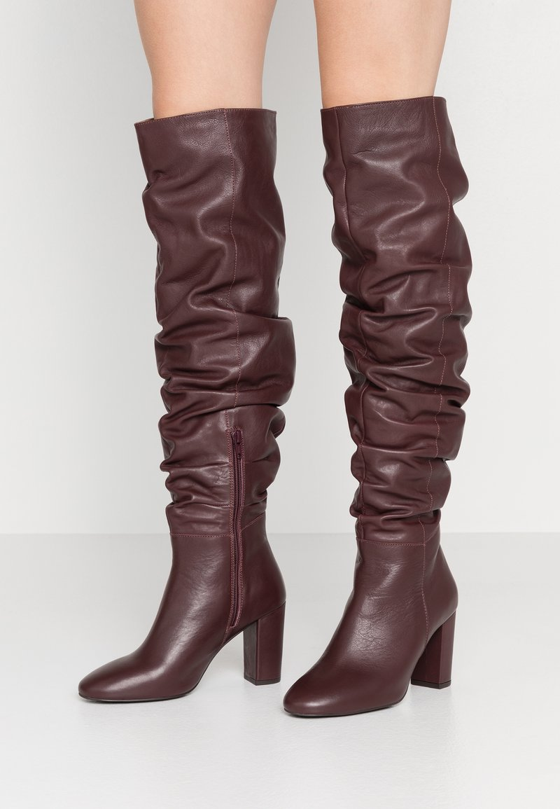 mint&berry - High heeled boots - bordeaux