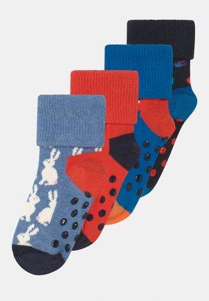 BUNNY FIRETRUCK ANTI SLIP 4 PACK - Socks - multi