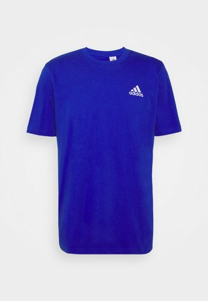 ESSENTIALS - T-shirt basic - bold blue/white