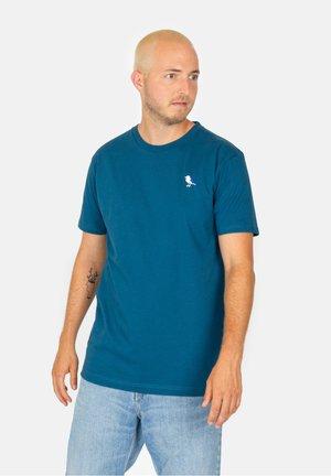Basic T-shirt - blue coral