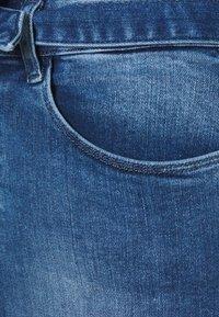 ONLY - ONLHUSH LIFE MID SKIRT - Kynähame - medium blue denim - 2