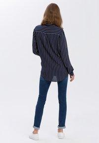 Cross Jeans - Button-down blouse - navy - 2