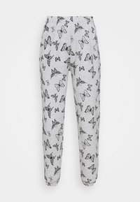 NEW girl ORDER - ACID BUTTERFLY JOGGER - Tracksuit bottoms - grey - 4