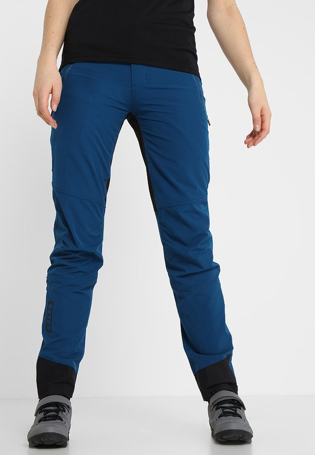 PANTS SHELTER - Trousers - ocean blue