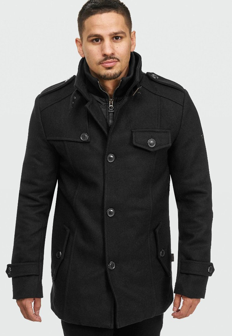 INDICODE JEANS - BRANDAN - Short coat - black