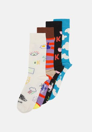GOOD TIMES 4 PACK UNISEX - Calcetines - multi
